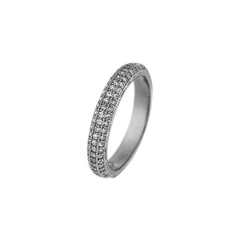 Δαχτυλίδι από ασήμι 925˚ με Ζιρκόν