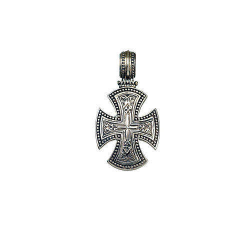 Σταυρός της Μάλτας σε ασήμι 925˚