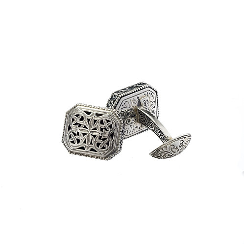 Cufflinks in Sterling Silver