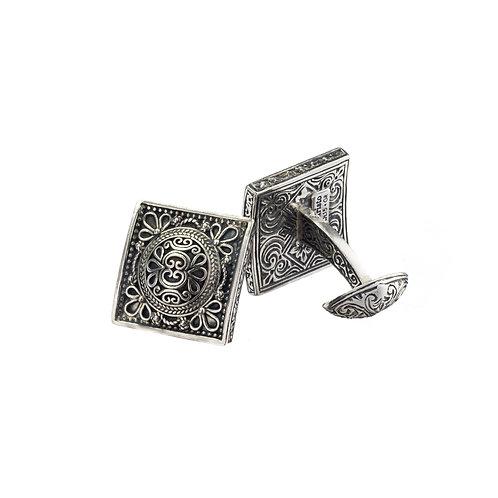 Cufflinks in Sterling Silver