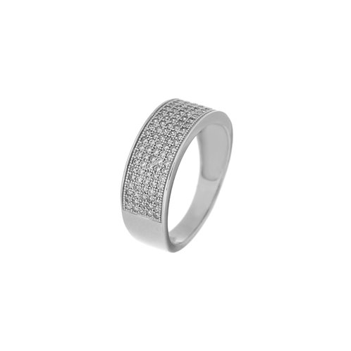 Ring in Sterling Silver with Zircon