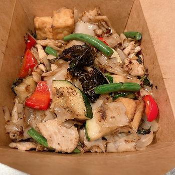 Pad Ke mow w: Tofu & chicken.JPG