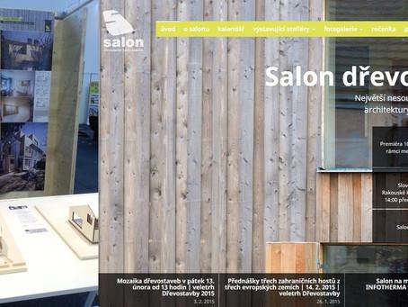 Studio AEIOU mělo prezentaci v rámci Salónu dřevostaveb.