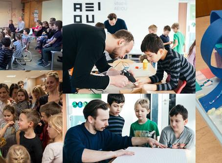 Workshop o architektuře s dětmi ze ZŠ Labyrinth