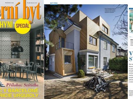 RD Lerchova v časopise Moderní byt