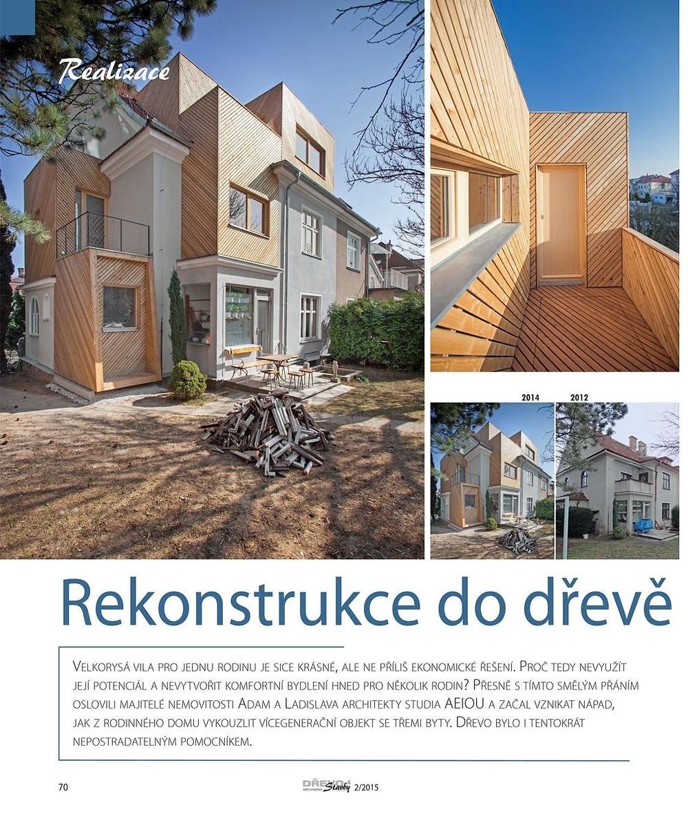 Dřevo&Stavby - studio AEIOU