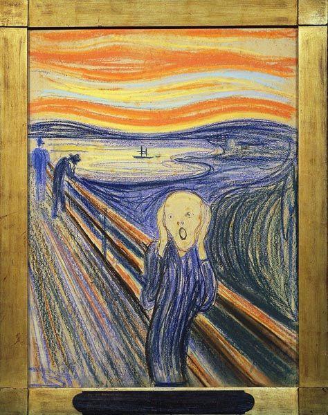Výkřik - Edvard Munch