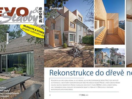 RD Lerchova v časopise Dřevo&Stavby