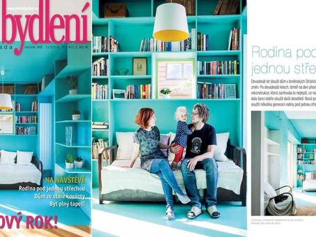 RD Lerchova v časopise Pěkné bydlení