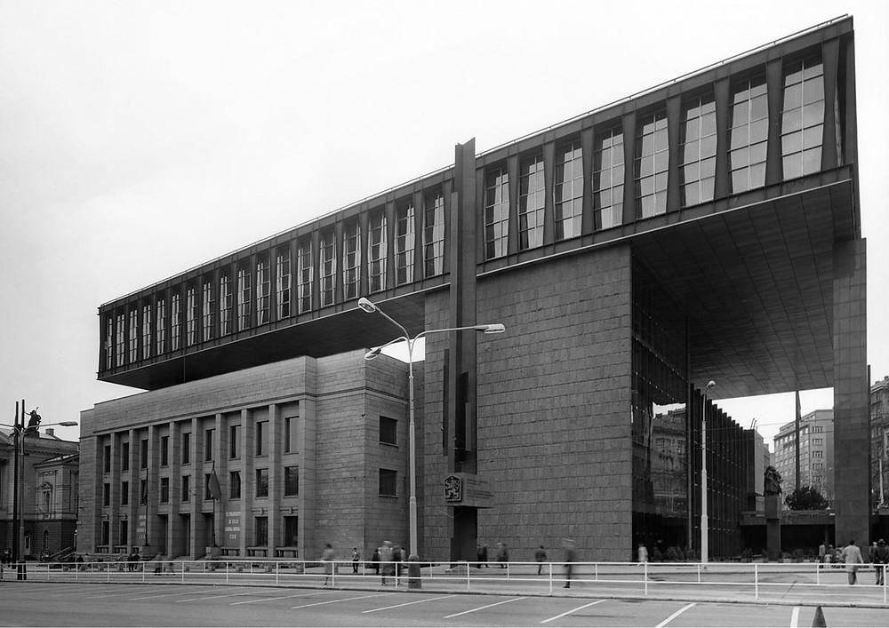 Federální parlament - Praha, Prager