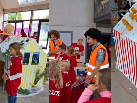 Workshop s dětmi na téma architektura a hendikep