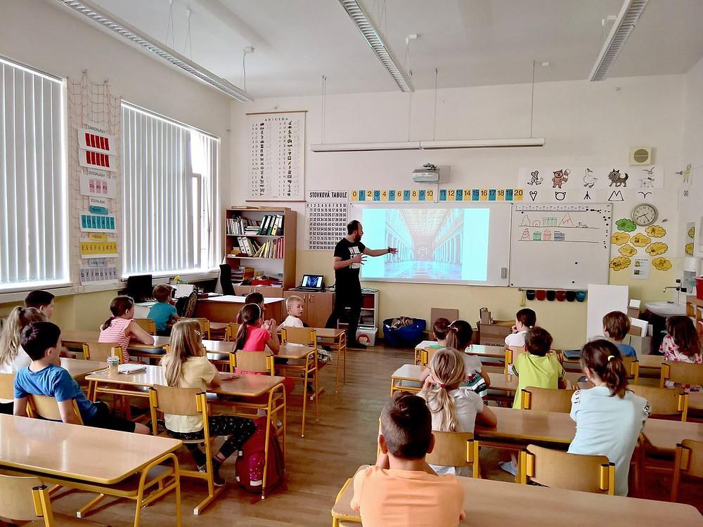 Workshop s ZŠ Gajdošova - studio AEIOU