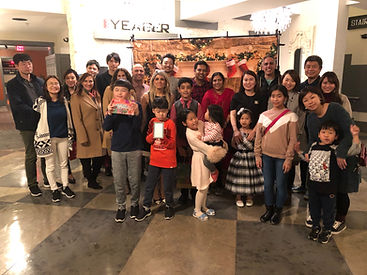 The English Academy Christmas Party 2019
