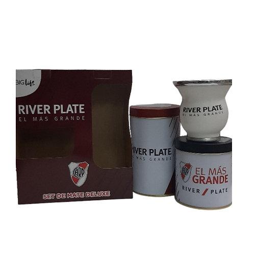 Set De Mate Deluxe River Plate H1Setmdriv