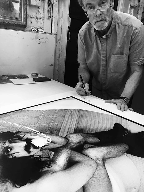 Frank Zappa Art | Auction | Julien's | Silver Gelatin Photograph - Krappa