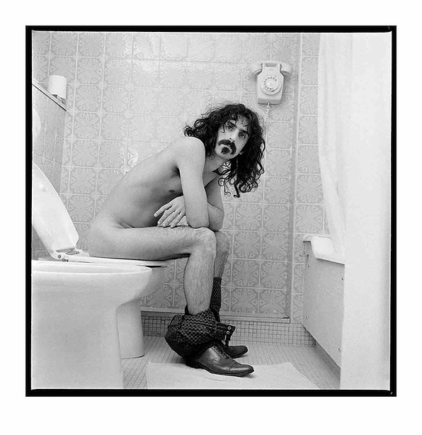 Frank Zappa Art | Auction | Juliens | Silver Gelatin Photograph - Krappa