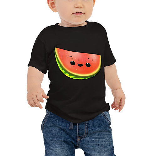 Baby Jersey Short Sleeve Tee - Watermelon