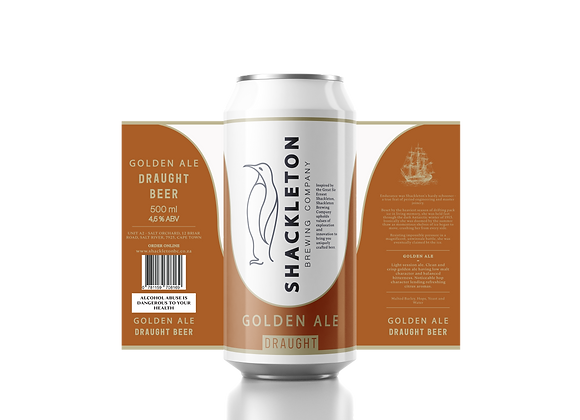 Golden Ale Draught | 12-Pack