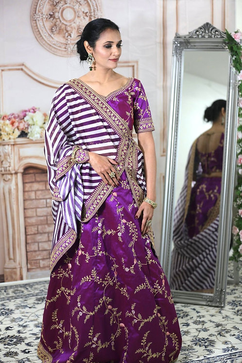 Sakshi - Embroidered Bridal Lehenga