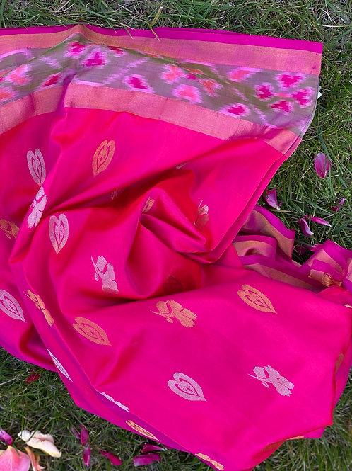 Dual Shaded Pink Uppada