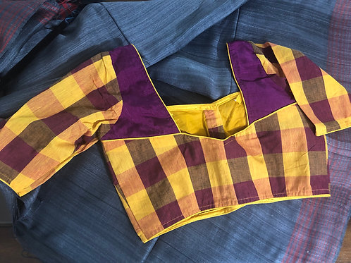 Yellow purple .