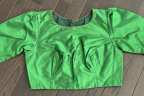 Pure  silk 3quarter sleeve
