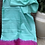 Thumbnail: Borderless pastel shade Gicha saree.