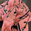 Thumbnail: Hand painted pure silk with Kantha