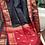 Thumbnail: Black  Maheshwari with red border