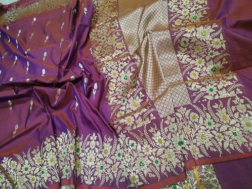 Pure silk Benarasi
