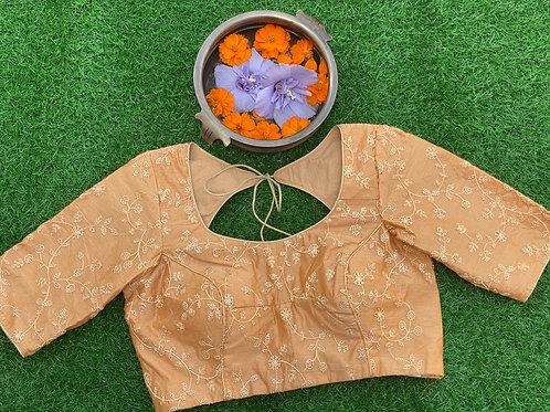 Tissue silk orange Gold