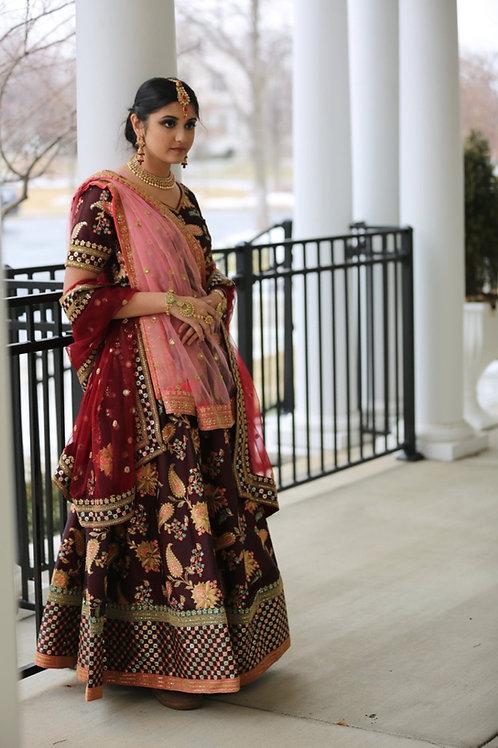Princess Niloufer - Bridal Lehenga