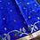 Thumbnail: Blue Matka Jamdani with Resham pallu