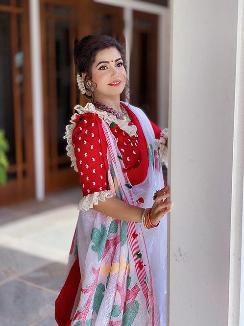 Linen Jamdani