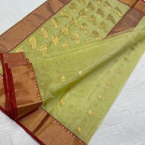 Chanderi silk Benarasi