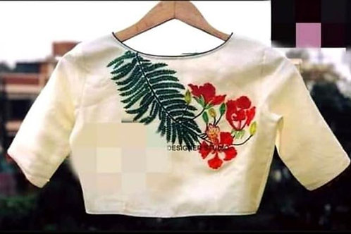 Embroidered Readymade Blouse
