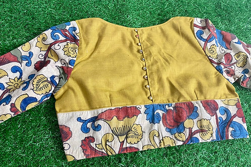 Dijon yellow kalamkari