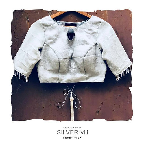 Silver Blouse- viii.