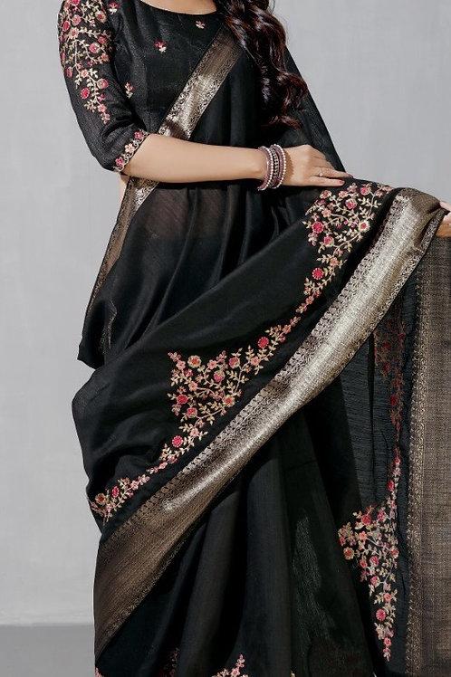 Emboidered linen