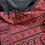Thumbnail: Black n Red Baluchori silk