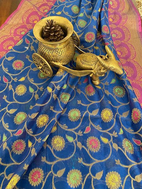 Silk cotton Alfi Benarasi