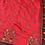 Thumbnail: Red Emboidered Spun silk