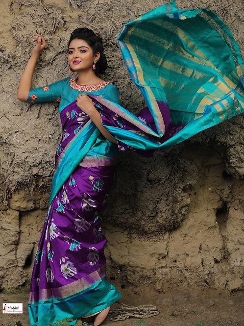 Saree - Pochampally Pure silk.
