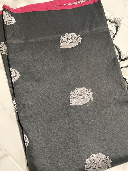 Black Canvas Silk, Free Shipping within USA, SKU# S27
