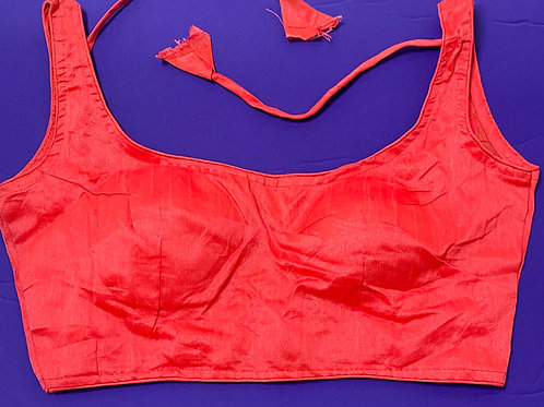 Rose Red silk cotton