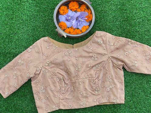 Tissue silk copper gold