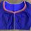 Thumbnail: Kalamkari patch on Blue