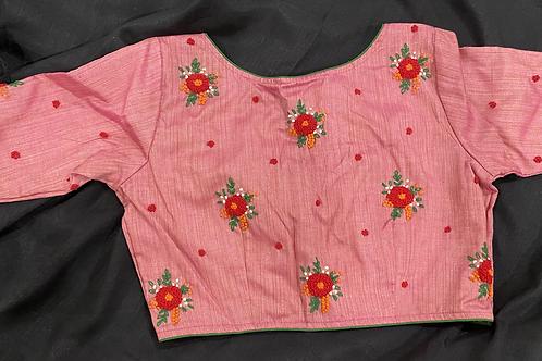 Khadi embroidery