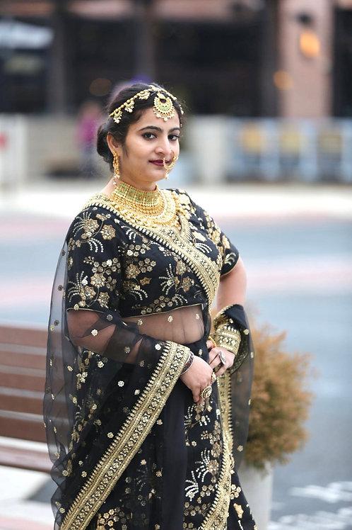 Diksha - Black  Lehenga Choli