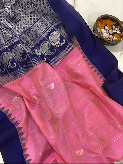 Hot pink  Gadwal